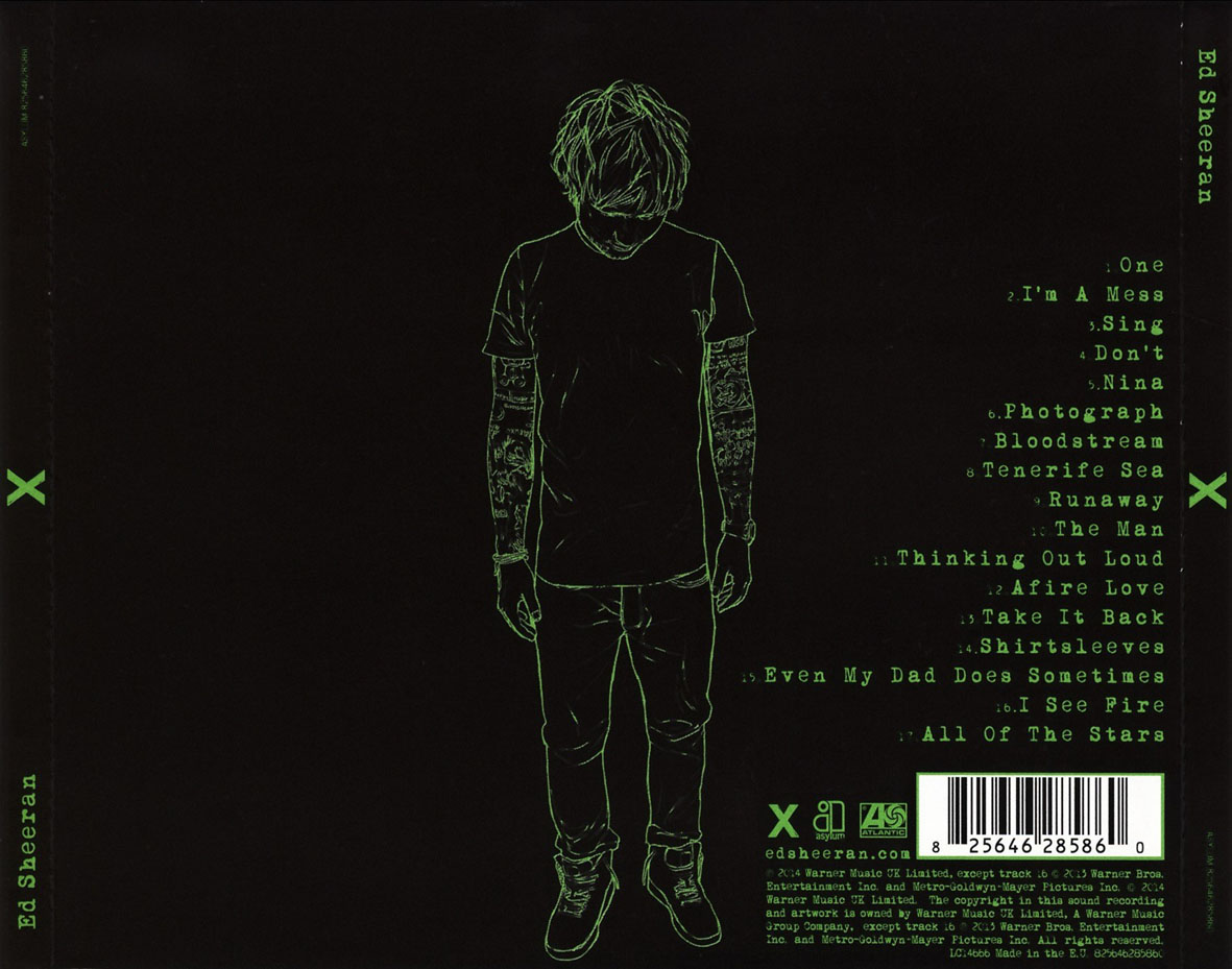 ed sheeran x deluxe album download free